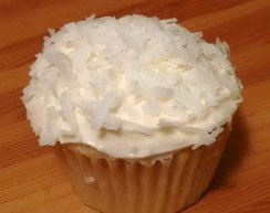 Coconut Cloud Cupcake